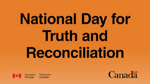 Federal Statutory Holiday: National Day for Truth and Reconciliation